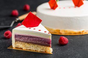 Торт-Малиновое-сердце