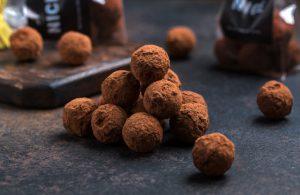 Шоколадные-трюфели