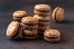 Macaron Praline nuts